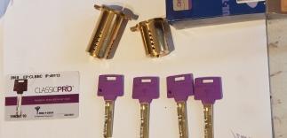 Remplacer le cylindre de votre serrure en cas de perte de clé